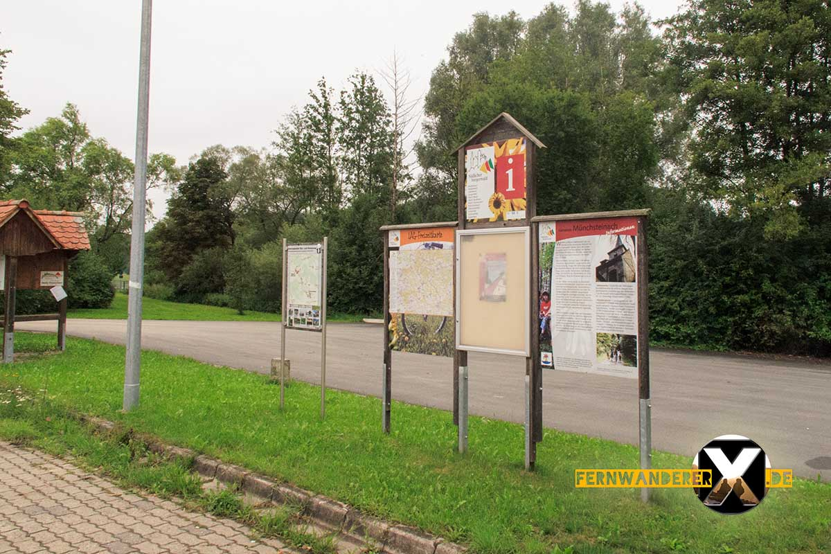 Oase der Sinne Suedlicher Steigerwald Wanderweg Muenchsteinach (1)