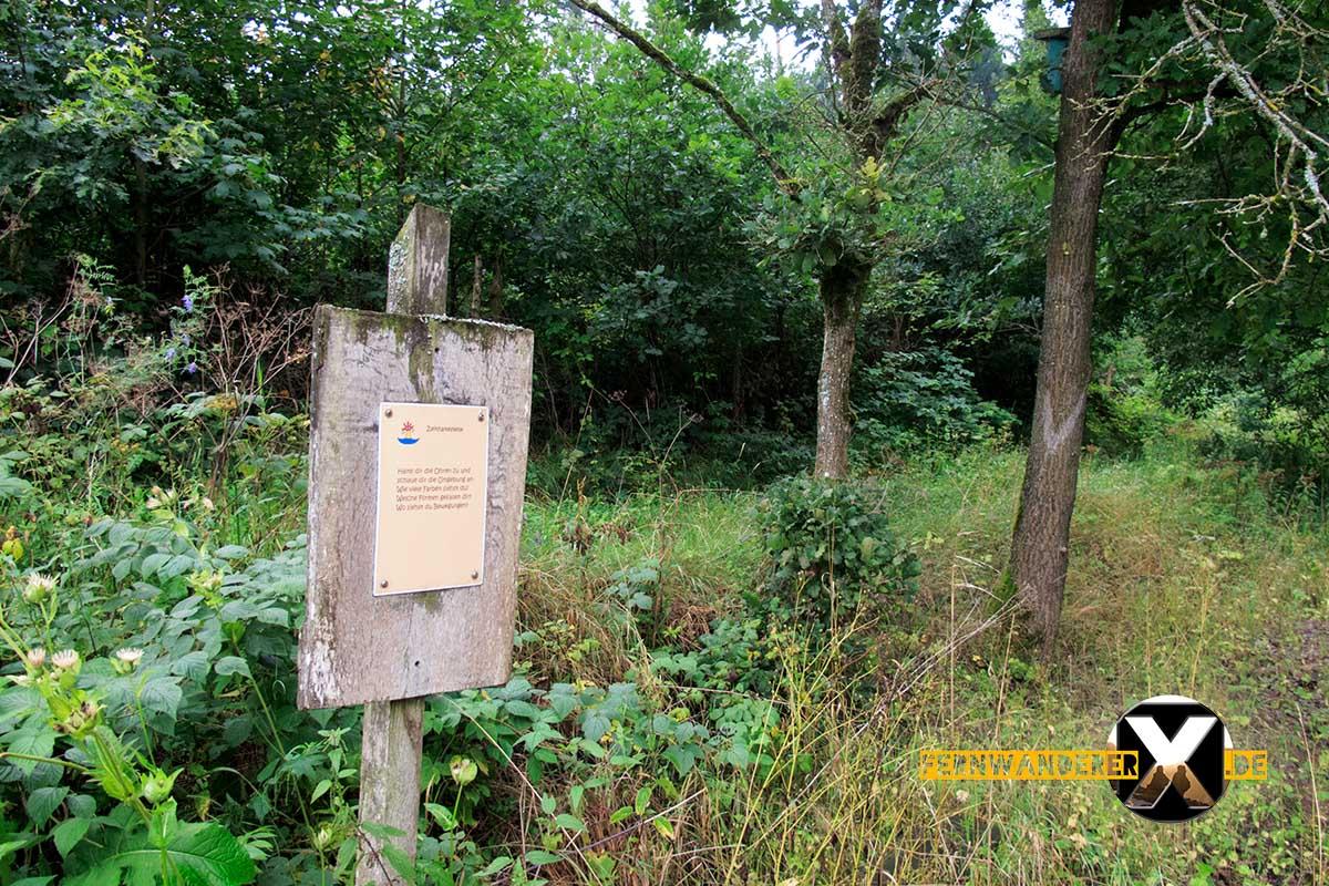 Oase der Sinne Suedlicher Steigerwald Wanderweg Muenchsteinach (3)