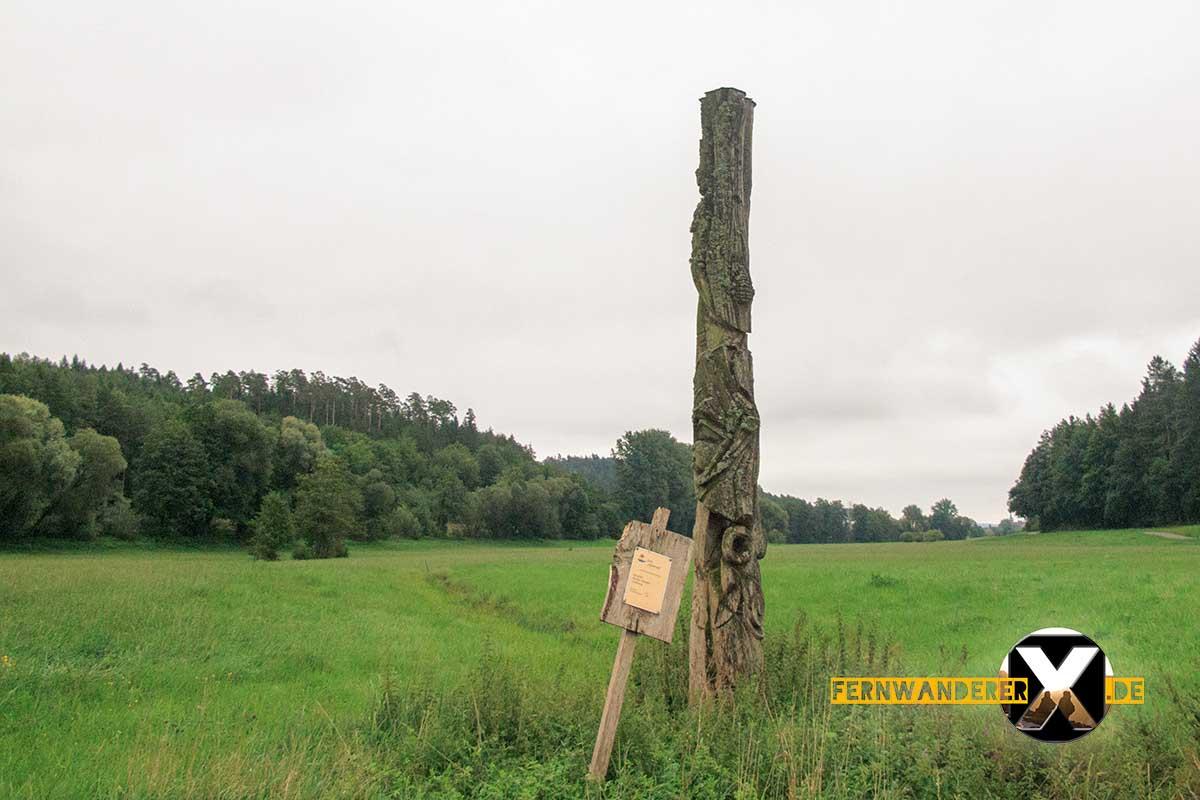 Oase der Sinne Suedlicher Steigerwald Wanderweg Muenchsteinach (6)