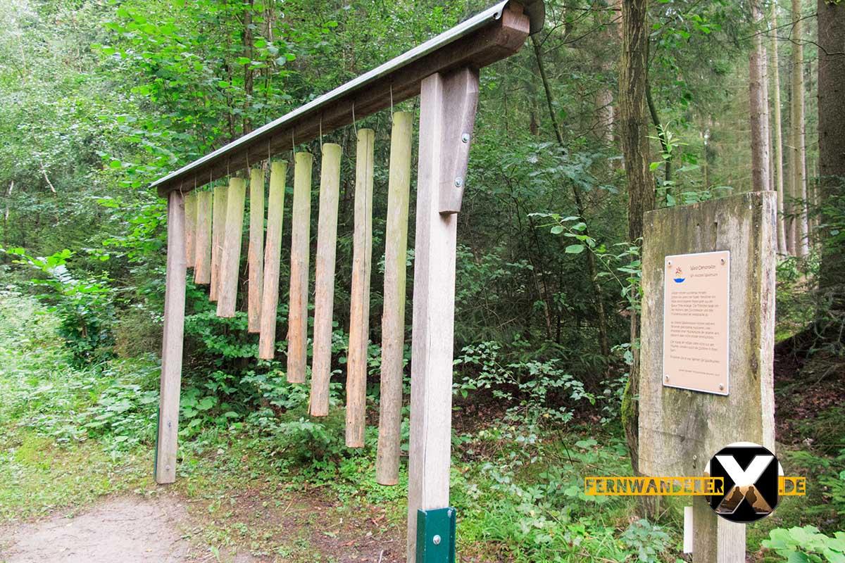 Oase der Sinne Suedlicher Steigerwald Wanderweg Muenchsteinach (8)