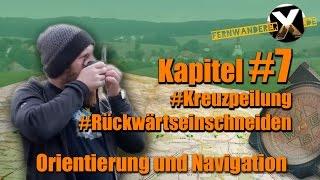 [:de]Orientierung und Navigation: Kreuzpeilung / Rückwärts Einschneiden[:en]Orientation and navigation:  Cross bearing / Resection[:]