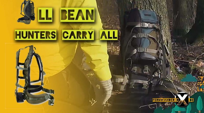 LL BEAN HUNTERS CARRY ALL  Thumpnail FernwandererX 800x445 - LL BEANS Hunters Carry ALL - Kraxe / Lastentrage