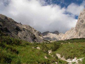 Bertgenhuette Blickindas Schneekar 300x225 - Bertgenhütte 1846hm - Hochseiler - Berchtesgadener Alpen