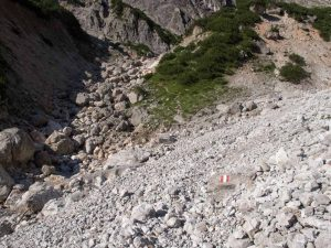 Bertgenhuette Tourenverlauf 300x225 - Bertgenhütte 1846hm - Hochseiler - Berchtesgadener Alpen
