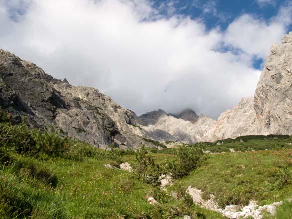 Hinterthal About Bertgenhuette to Teufelsloechern 14 - Devil holes 2700hm over Bertgenhütte