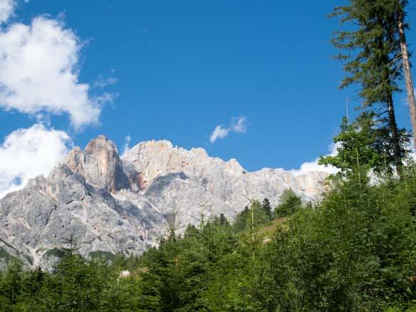 Hinterthal Ueber Bertgenhuette zu den Teufelsloechern 2 - Teufelslöcher 2700hm über Bertgenhütte