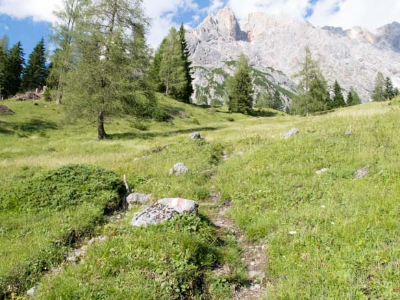 Hinterthal Ueber Bertgenhuette zu den Teufelsloechern 6 - Teufelslöcher 2700hm über Bertgenhütte