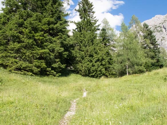 Hinterthal Ueber Bertgenhuette zu den Teufelsloechern 7 - Teufelslöcher 2700hm über Bertgenhütte