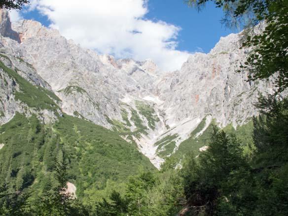 Hinterthal Ueber Bertgenhuette zu den Teufelsloechern 8 - Teufelslöcher 2700hm über Bertgenhütte