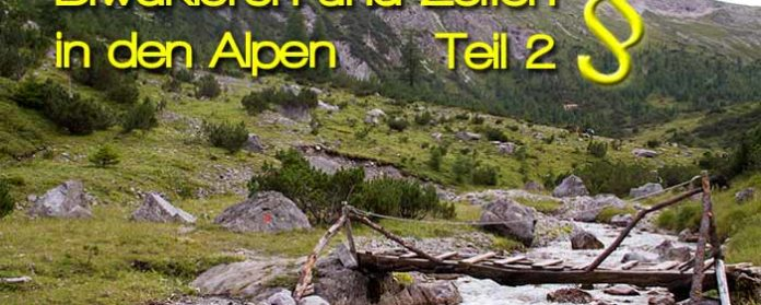 Biwakieren und Zelten in den Alpen Gesetze in Deutschland Österreich Italien 696x279 - Bivouac and tents in the austrian and german Alps -part 2- Legal Information