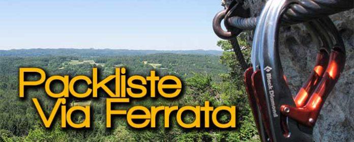 Packliste für Klettersteig Via Ferrata 696x279 - Packliste für Klettersteig - Via Ferrata