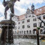 Rathaus in Torgau mit Marktplatz 150x150 - Torgau Städtereise Sehenswürdigkeiten Teil 3