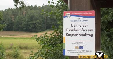 Uehlfelder Karpfenrundweg 8 390x205 - Uehlfelder Karpfenrundweg -Wandern im Karpfenland Aischgrund