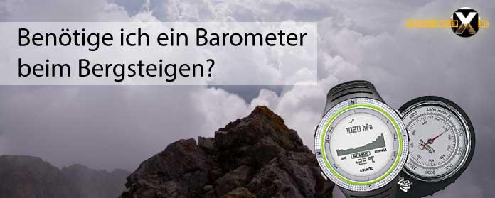 Benoetige ich ein Barometer Höhenmesser oder GPS beim Bergsteigen 01 - Höhenmesser oder GPS beim Bergsteigen