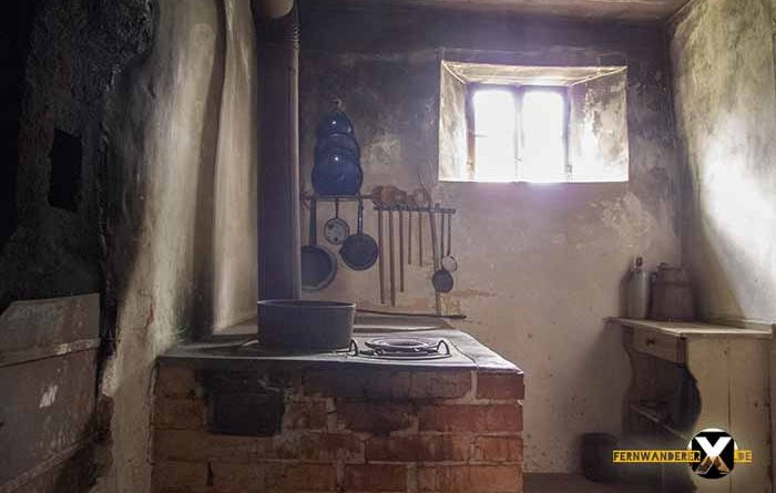 Open Air Museum Bad Windsheim Old kitchen with wood stove 700x445 - Trist, dark and boring!