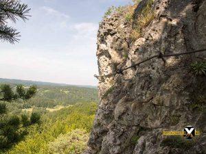 Höhenglücksteig Via Ferrata Klettersteig in der Fränksichen Schweiz Teil 1 teil 2 Teil 3 Schwierigkeit 11 300x225 - Höhenglücksteig in der Fränksichen Schweiz-Klettersteig-Via Ferrata