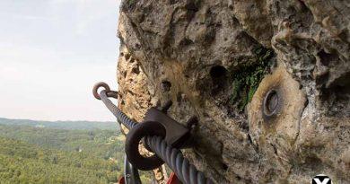 Höhenglücksteig Via Ferrata Klettersteig in der Fränksichen Schweiz Teil 1 teil 2 Teil 3 Schwierigkeit 15 390x205 - Höhenglücksteig in der Fränksichen Schweiz-Klettersteig-Via Ferrata