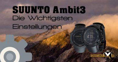 Suunto Ambit3 Die wichtigsten einstellungen für Peak, Vertical, Sport und Run Tastenbelegung FOTO Beschreibung:Plus Schritte