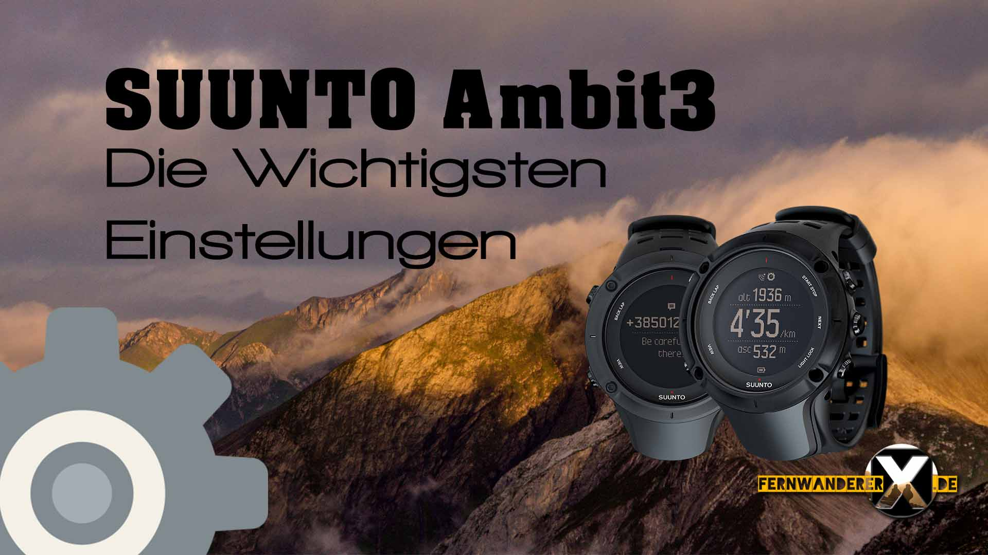 [:de]Suunto Ambit3 Die wichtigsten einstellungen für Peak, Vertical, Sport und Run[:en]Suunto Ambit3 The most important settings for peak, Vertical, sports and Run[:]