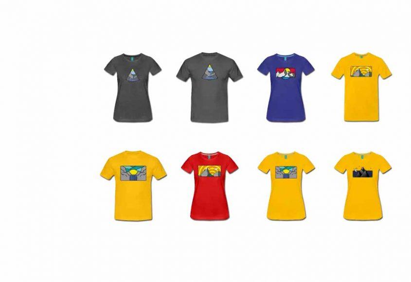 Shirt shop für Tshirt Bergsteiger Mountain Berg Kletter boulder Wandern 845x580 - Trail-Running und Mountain-Running Shirts