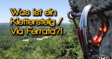 Was ist ein Klettersteig Via Ferrata Bezeichnung Schwierigkeit Skala 390x205 - Was ist ein Klettersteig / Via Ferrata ?!