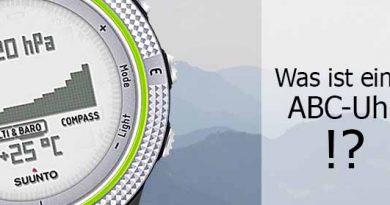 Was ist eine ABC Uhr What is a ABC watch Bergsteigeruhr Altimeter barometer compass watch  390x205 - Was ist eine ABC Uhr?