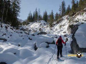 Schneeschuh tour Wimbachgries Berchtesgaden Ramsau Berchtesgadener Land 15 300x225 - Schneeschuhtour - Berchtesgadener Land - Wimbachgries