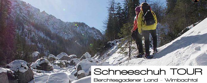 Schneeschuhtour Berchtesgadener land Ramsau Wimbachgries Wimbachtal 696x279 - Schneeschuhtour - Berchtesgadener Land - Wimbachgries