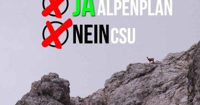 """Alpenplan Diskussion Erhalt DAV CSU Seehofer Soeder Bayern 390x205 - Ein """"Alp""""traum namens CSU #Alpenplan"""
