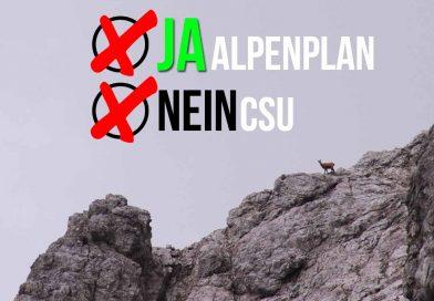 """Ein """"Alp""""traum namens CSU #Alpenplan"""