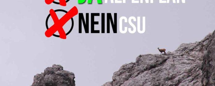 """Alpenplan Diskussion Erhalt DAV CSU Seehofer Soeder Bayern 696x279 - Ein """"Alp""""traum namens CSU #Alpenplan"""