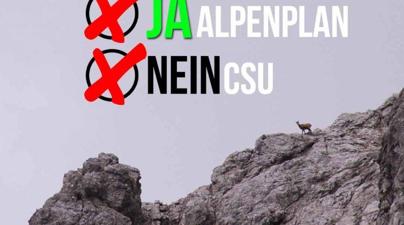 """Alpenplan Diskussion Erhalt DAV CSU Seehofer Soeder Bayern 800x445 - Ein """"Alp""""traum namens CSU #Alpenplan"""