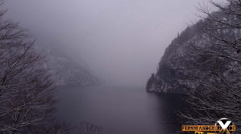 ausblick koenigssee view at koenigsee schoenau wandern 2 800x445 - Der Königssee - Wanderung am Königssee