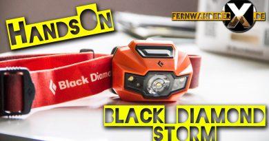 Handson Black diamon storm kopglamoe test review headlamp 390x205 - Black Diamond Storm Strinlampe -Test-Review