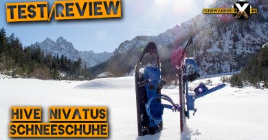 Hive Nivatus Test review schneeschuh 390x205 - Hive Nivatus Snowshoe -  Hike and Drive - Test and Review