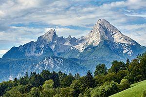 20150824 Watzmann Berchtesgaden 01982 - The Watzmann is again a climber Mountain