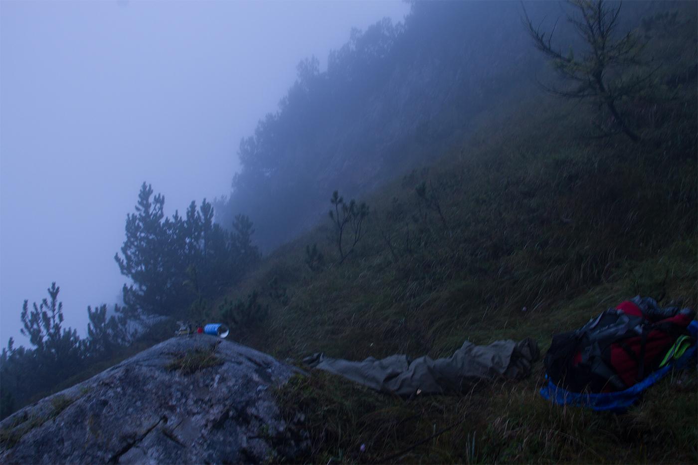 Bergtour Biwak - Teufelslöcher 2700hm über Bertgenhütte