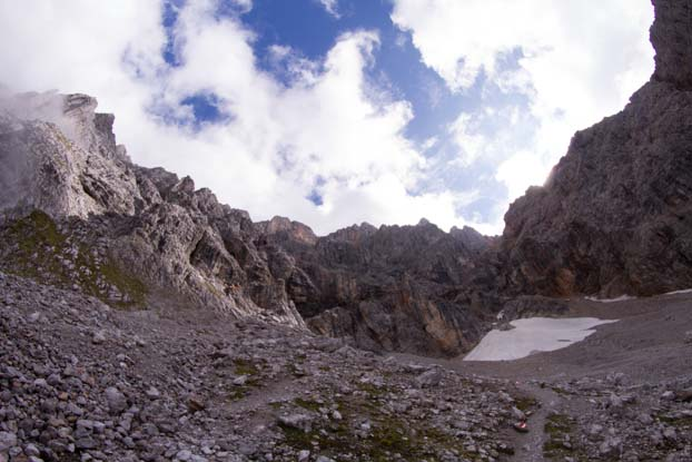 Bertgenhuette Teufelsloecher 10 - Teufelslöcher 2700hm über Bertgenhütte