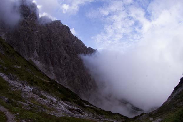 Bertgenhuette Teufelsloecher 5 - Teufelslöcher 2700hm über Bertgenhütte