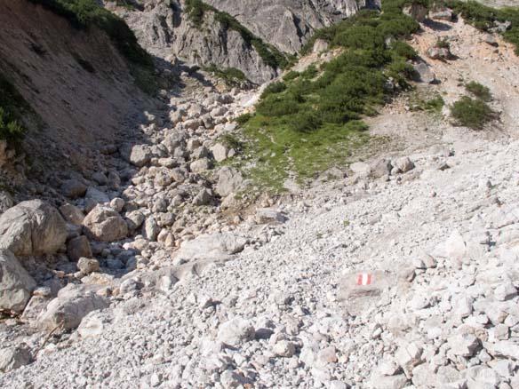 Hinterthal Ueber Bertgenhuette zu den Teufelsloechern 10 - Teufelslöcher 2700hm über Bertgenhütte