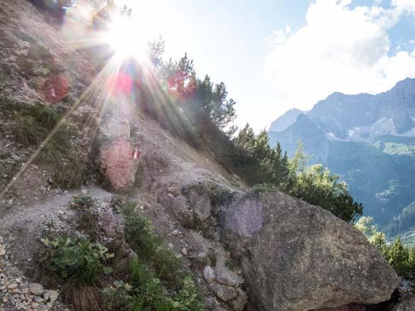 Hinterthal Ueber Bertgenhuette zu den Teufelsloechern 9 - Teufelslöcher 2700hm über Bertgenhütte