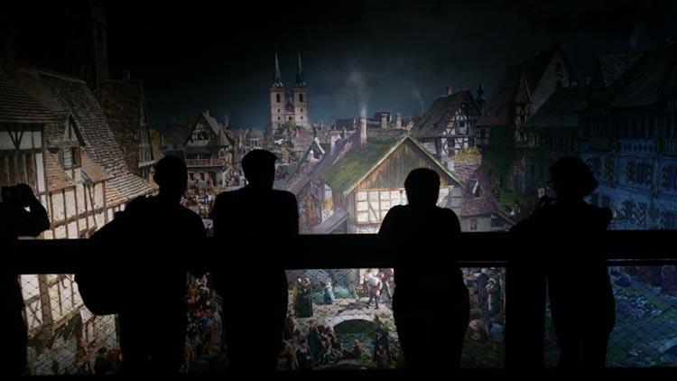 Luther 360 asisi austellung 2 - 360° Grad Ausstellung Luther 1517 in Wittenberg