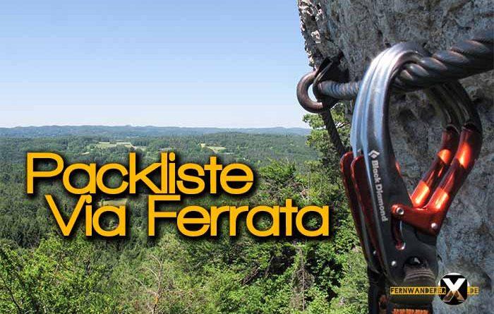 Packliste für Klettersteig Via Ferrata 700x445 - Packliste für Klettersteig - Via Ferrata