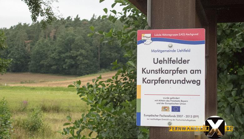 Uehlfelder Karpfenrundweg 8 780x445 - Uehlfelder Karpfenrundweg -Wandern im Karpfenland Aischgrund