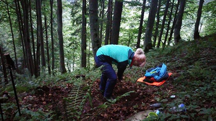 biwakieren in den alpen 2 - Das Gewitter Biwak - Berggeschichten