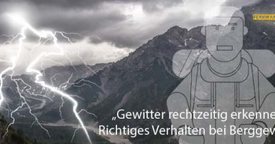 Berggewitter Rechtzeitig erkennen Wärme und Forntgewitter 01 390x205 - recognize thunderstorm time - Correct behavior at Mountain storm