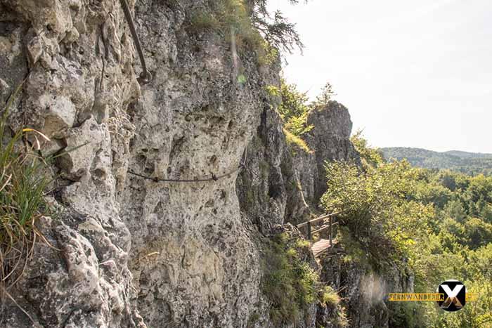 Klettersteig Höhenglücksteig : Klettersteig ist kein hochseilgarten onetz