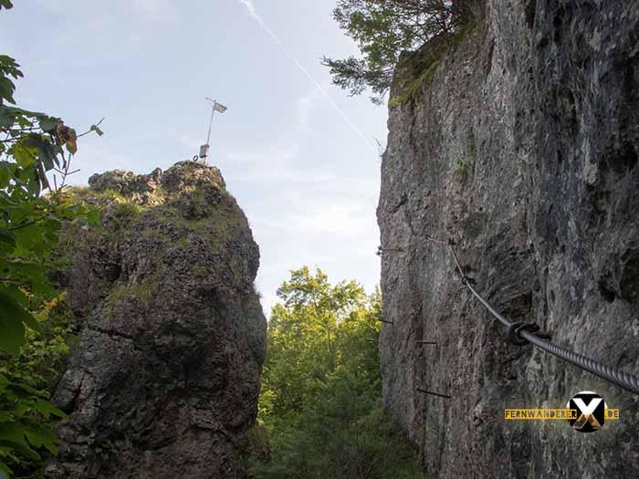 Klettersteig Switzerland : Höhenglücksteig in der fränksichen schweiz klettersteig via