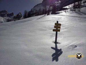 Watzmannhaus Winterquartier Hütte  Watzmann Winter Tour Wandern Schneeschuh 25 300x225 - Watzmann - Watzmannhaus Wintertour