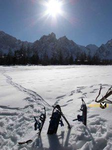 Schneeschuh tour Wimbachgries Berchtesgaden Ramsau Berchtesgadener Land 19 225x300 - Schneeschuhtour - Berchtesgadener Land - Wimbachgries